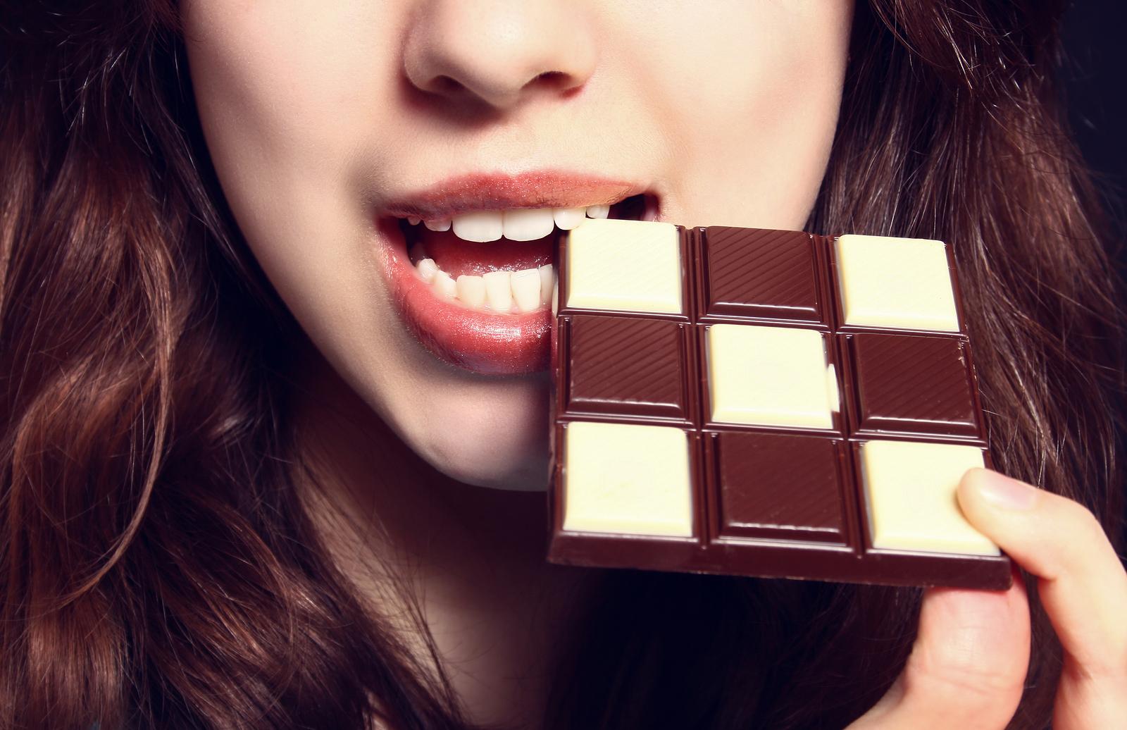 mit zartbitterschokolade abnehmen
