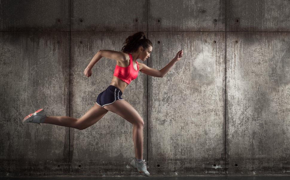 Intensives Cardio 50 Minuten, um schnell Gewicht zu verlieren