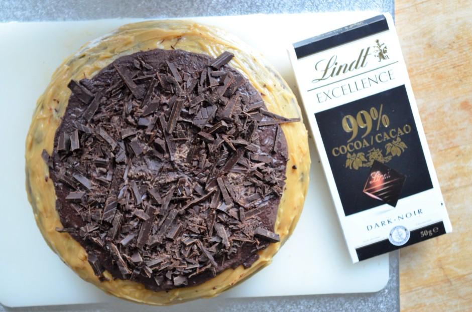 Rezept Schoko Erdnussbutter Kuchen Marvinsfitnessblog