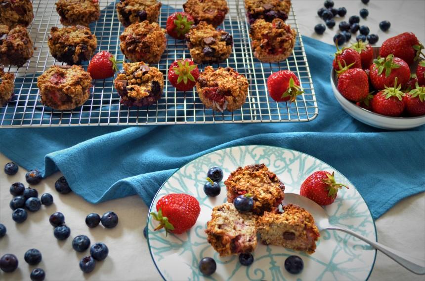 01-Erdbeer-Banane-Hafermuffins