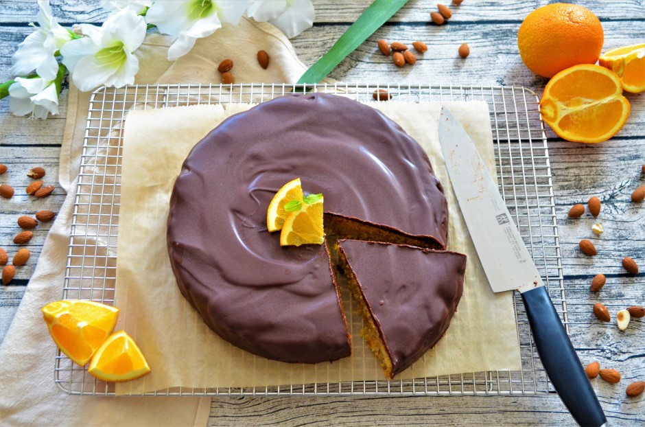 Rezept Orangen Mandelkuchen Ohne Mehl Marvinsfitnessblog