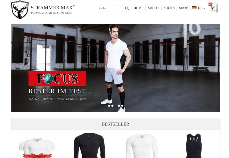 Strammer-Max-Homepage