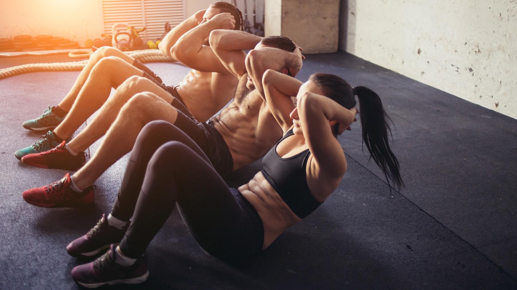 Abnehmen muskulöse Oberschenkel Geschichte