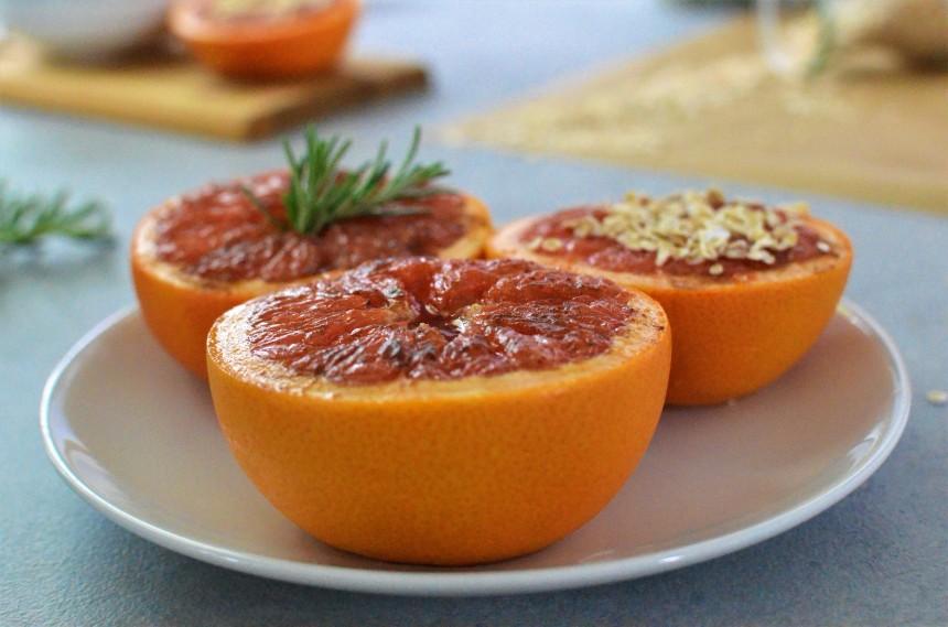 02-Gebackene-Grapefruit-Ahornsirup-Zimt