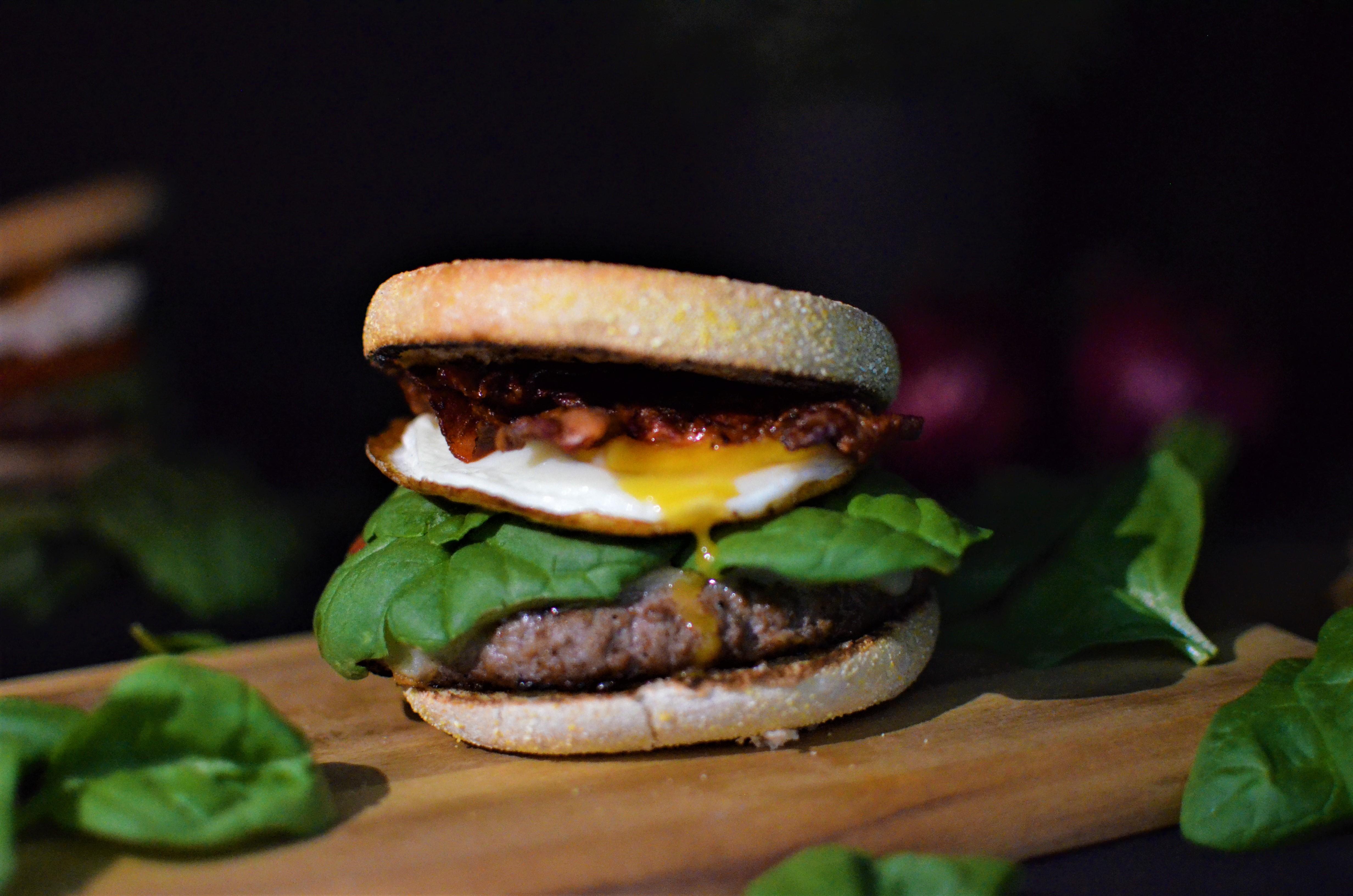 Rezept: Gesunde Frühstücksburger