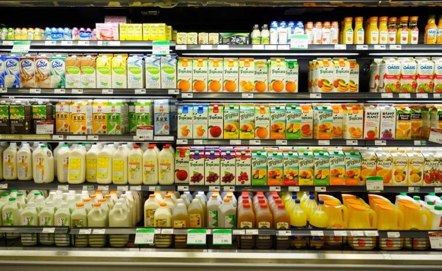 Säfte-und-Co-Supermarkt
