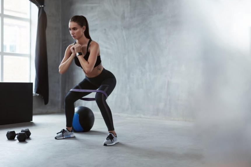 Fitnessband-im-Einsatz