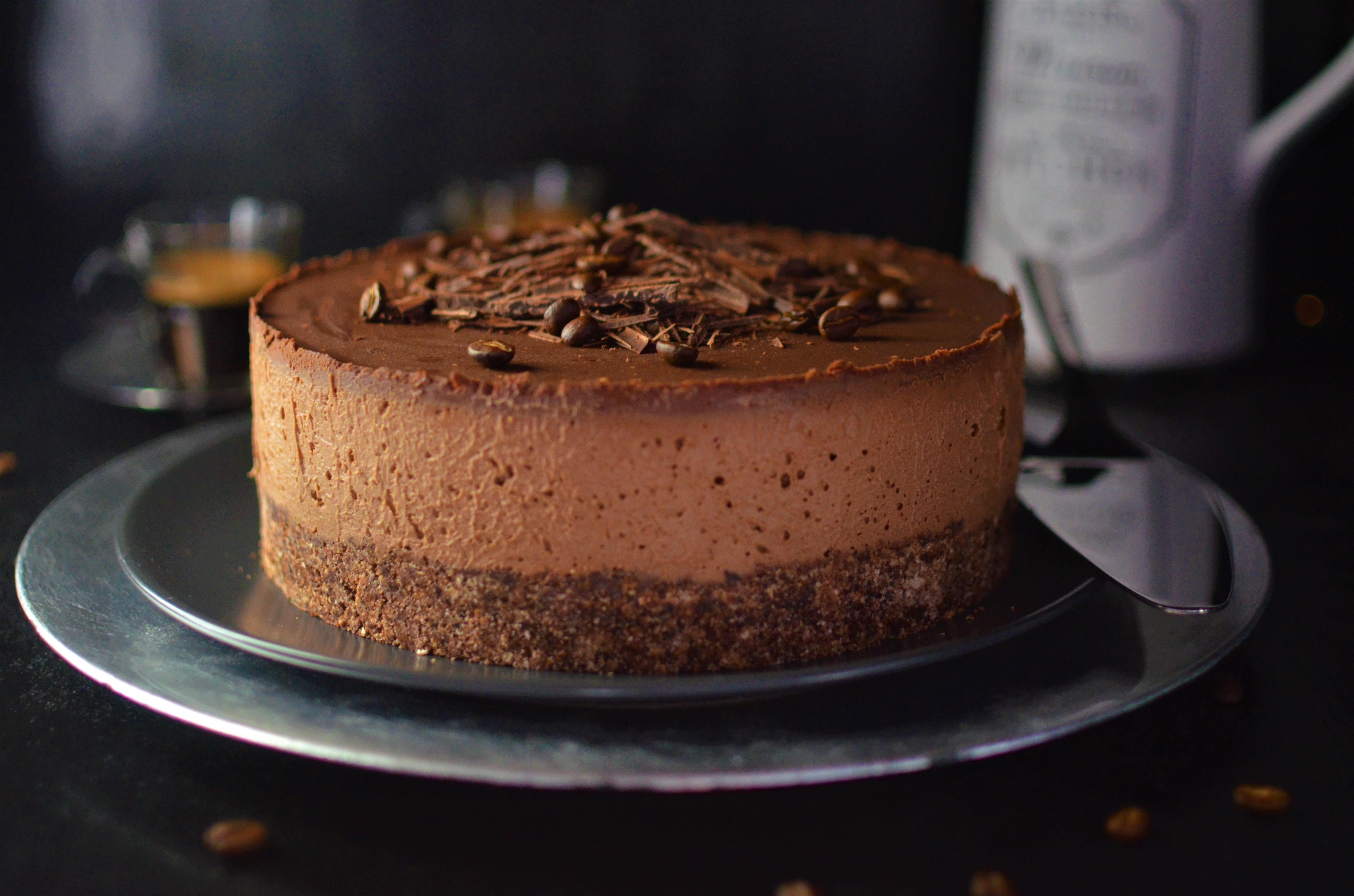 01-Veganer-Mocha-Schoko-Cheesecake